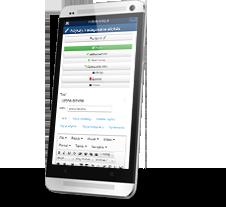 strona internetowa dla smartphone'ów